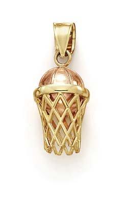 14 carats-Bicolore-JewelryWeb-Panier de basket