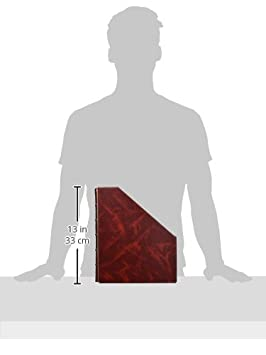 Pardo Classic Stehsammler Foolscap folio burgunderrot