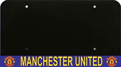 Manchester United License Plate - MW Solutions Manchester United License Plate Frame and License Plate Holder - Bottom Mount
