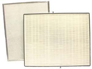 Broan ACCGSFHP2 Air Purifier HEPA Filter Kit (2 Pre-Filters & 1 HEPA) (Air Purifier Hepa 3000)