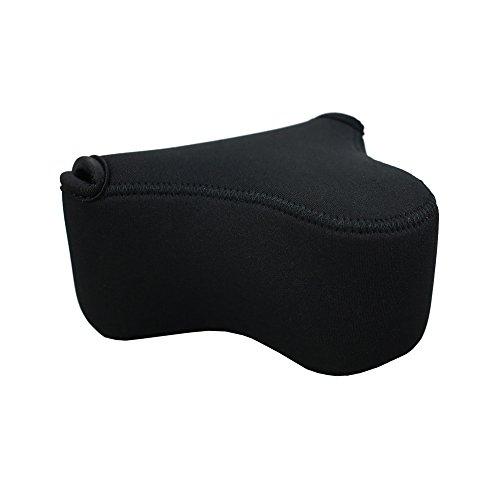 JJC Ultra-Light Neoprene Camera Case Pouch Bag for Sony A6000 A6300 A6400 A6500 A5100 A5000 NEX 5N + E 18-55mm/10-18mm/50mm Lens And Other Camera & Lens Below 4.7 x 2.9 x 5.1