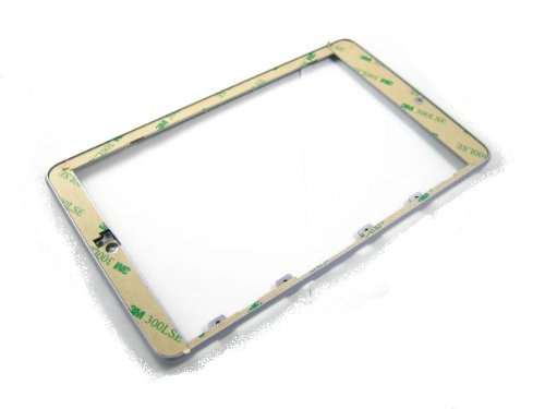 (For Asus Google Nexus 7 (2012) Silver ~ Front Frame Bezel Cover Housing ~ Mobile Phone Repair Part Replacement)