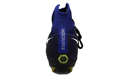 Nike Magista Obra Ii Sg-pro Ac Anti Sabots De Football Clog Bleu 869482 014 Sz 9 Nouveau
