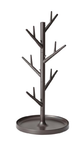 YAMAZAKI home Branch Glass Stand, Brown