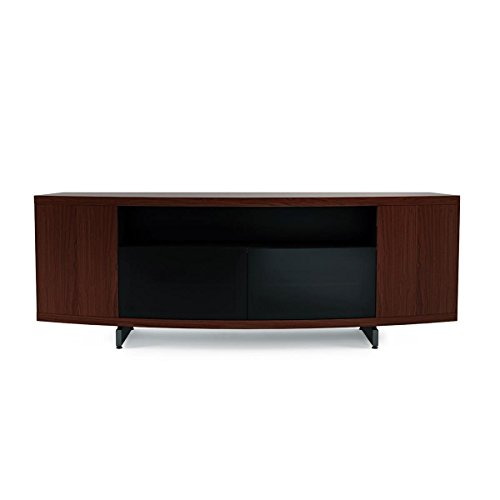 BDI Sweep 8438CWL Chocolate Stained Walnut Home Theater Entertainment System -