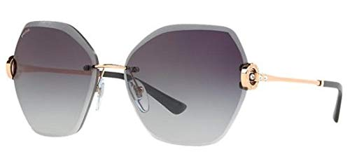 Bvlgari BV6105B 20148G Pink Gold BV6105B Square Sunglasses Lens Category 3 Size