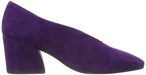 Con Cerrada De Mujer Vagabond Tacón Olivia purple Morado Para Punta Zapatos 70 qCxEwSIYO