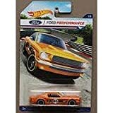 HOT WHEELS FORD PERFORMANCE ORANGE '65 MUSTANG 2+2 FASTBACK 1/8
