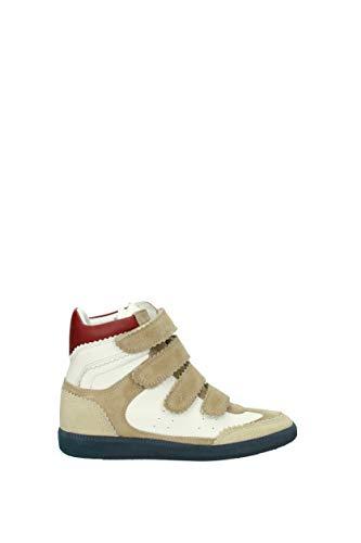 bk003718p031s Sneakers Marant Isabel Bianco Donna Eu Camoscio wSfxpI