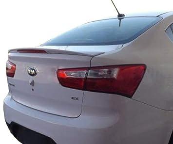 Accent Spoilers-Spoiler for a Kia Rio 4-Door Factory Style Spoiler 2013-2017-Primer