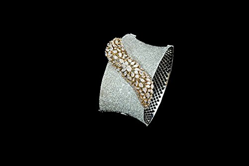 Home Comforts Canvas Print Sparkling Diamond Bracelet Stretched Canvas 10 x 14 (Sparkling Bracelet Diamonds)