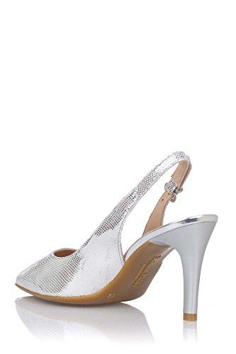 PATRICIA MILLER Zapato DE Vestir EN Piel Plateada