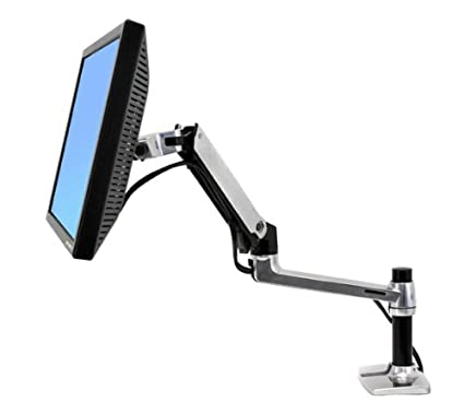 stand monitor unbox my quad mount desk inch lcd ergotron