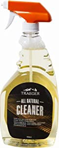 Traeger Pellet Grills BAC403 BBQ Grill Cleaner, Natural, Biodegradable, 950mL Spray from famous TRAEGER PELLET GRILLS LLC