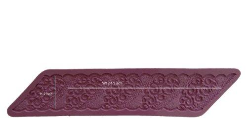 O.K Molds silicone cake decorating fondant gompaste supply lace M5062