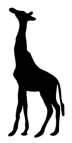 Giraffe Peel (Giraffe Silhouette 1 Decal Sticker - Peel and Stick Sticker Graphic - - Auto, Wall, Laptop, Cell, Truck Sticker for Windows, Cars, Trucks)