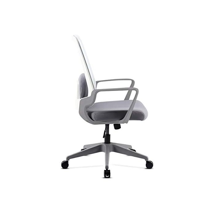 31U9HmpL%2BvL Respaldo ergonómico y cojín incluido Pistón de gas que permite regular la altura del asiento Fácil y sencillo montaje