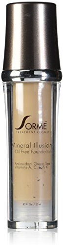 Sorme Cosmetics Mineral Illusion Foundation, Beige Nude, 0.8 Ounce - Sorme Cosmetics
