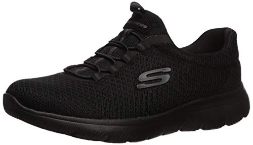Skechers Women's Summits Sneaker, BBK, 6.5 W US
