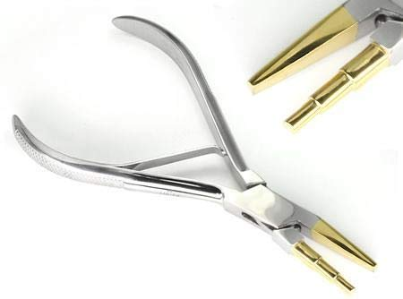 Brass Tip Nose Ring Pliers - Bend the Perfect Nose Screw Every Time
