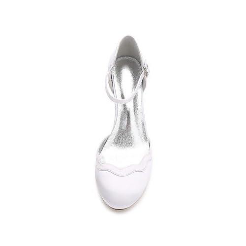 9623f646 50% de descuento El mejor regalo para mujer y madre Mujer Zapatos Satén  Primavera Verano Confort D'Orsay ...