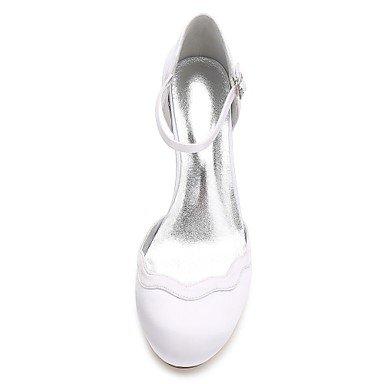 y boda Satén Tacón Tacón Zapatos mejor Primavera Zapatos Kitten D'Orsay Tobillo Dos Confort Básico Cono Mujer Tira madre para el 5 Verano us8 mujer y Piezas regalo cn4 uk6 5 Pump El en de eu39 S8qO0