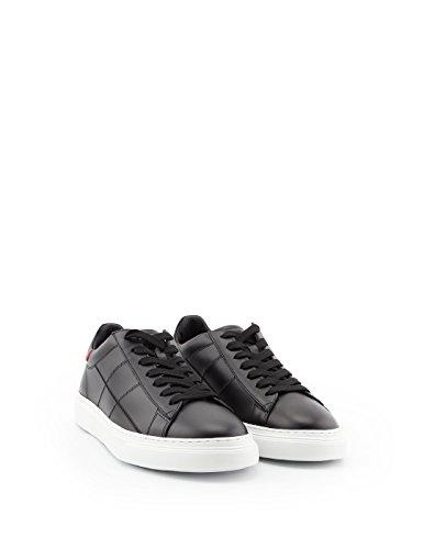 Hogan Mannen Hxm3650k692klab999 Zwart Lederen Sneakers