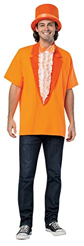 Men's Dumb & Dumber Lloyd Christmas T-Shirt w/Hat Fancy Costume, L (42-44)