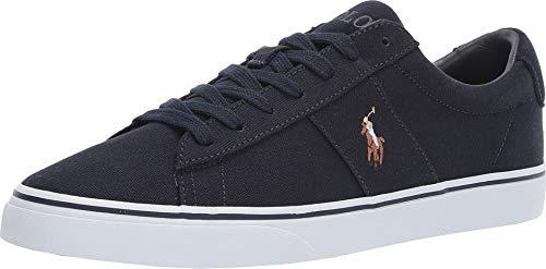 Lauren Canvas Sneakers Ralph - Polo Ralph Lauren Men's Sayer Sneaker Aviator Navy 8.5 D US