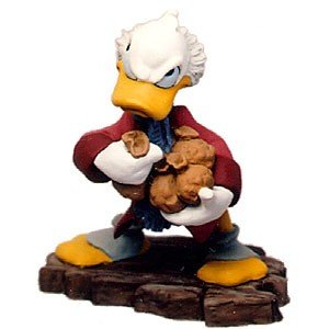 Amazoncom Wdcc Mickey Christmas Carol Scrooge Mcduck Ornament Bah