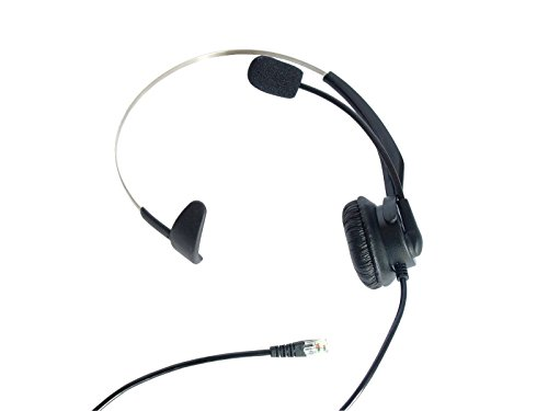 LotFancy Calltel Monaural Headphone Plantronics