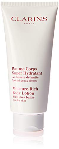 Clarins Moisture Rich Body Lotion with Shea Butter, 6.5 Ounc