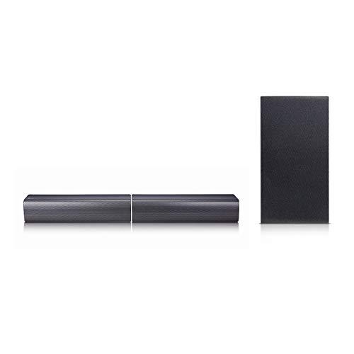 LG Electronics SJ7 Sound Bar Flex - Dual Speaker System with Wireless Subwoofer (2017 Model)