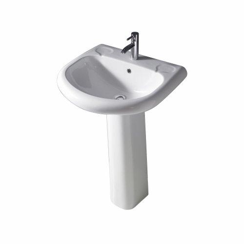 3 orient 660 pedestal lavatory