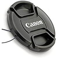 OMAX 58mm Replacement Front Lens Cap for Canon 600D/700D/1200D/1300D (Black)