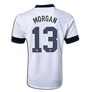 Men's Soccer Jersey Alex Morgan USA Centennial Jersey 2013 (M)