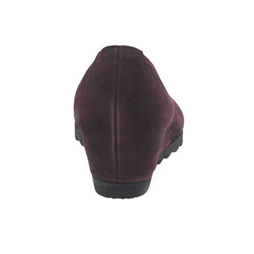 Gabor Shoes Gabor Basic, Zapatos de Tacón para Mujer Rojo (15 New Merlot)