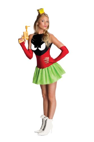Secret Wishes Marvin The Martian Woman's Costume, Standard Color, (Marvin Costume)