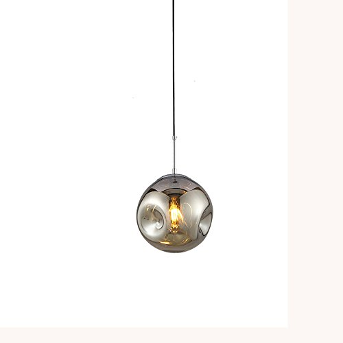 Postmodern LED Chandeliers, Nordic Mini Iron Round Glass ...