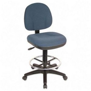 Blue Drafting Chair Office Furniture - Lorell Adjustable Multi-Task Stool, 24 by 24 by 40-1/2 by 50-1/2-Inch, Blue