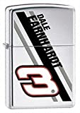 Zippo Dale Earnhardt Silver Pocket Lighter