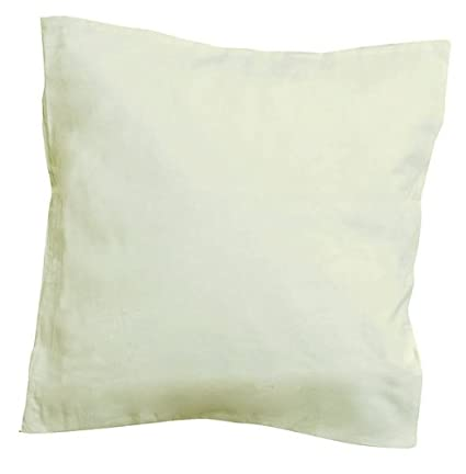 5 X Kissenhülle Creme Weiß 40 X 40 Cm Kissenbezug Kissenhülle Zum Bemalen