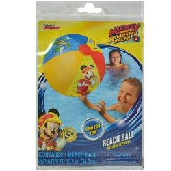 Disney Junior Mickey Mouse Inflatable Beach Balls 3 Pack - Pool Toys For Kids in Summer