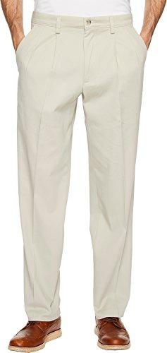 Dockers Men's Easy Khaki D3 Classic Fit Pleated Pants Cloud 33 34