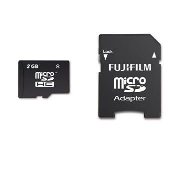 Amazon.com: Fujifilm 2 GB micro SD tarjeta de memoria ...