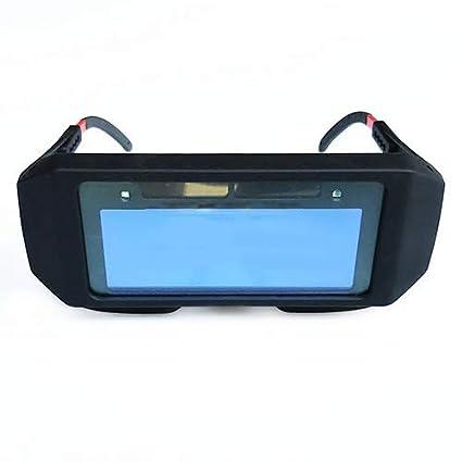 Solar Auto Oscurecimiento Soldadura Casco Ojos Protector Soldador Cap Gafas De Máquina Cortador Soldadura Máscara Filtro
