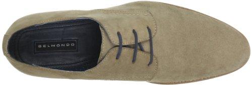 Belmondo 659400/Q - Zapatos de cordones de cuero para hombre Beige (Beige (Taupe))