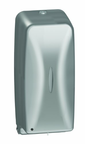 (Bradley 6A00-110000 Diplomat Stainless Steel Surface Mounted Soap Dispenser, 27 oz. Capacity, 4-5/8