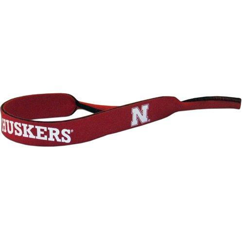 Nebraska Cornhuskers Neoprene Strap Holder Croakies for Sunglasses or Eyeglasses NCAA College - Nebraska Sunglasses