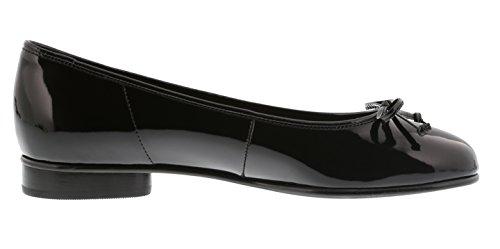 Gabor Womens Shoes 65.103.77 Ballerine Da Donna Nere (nere), Eu 9